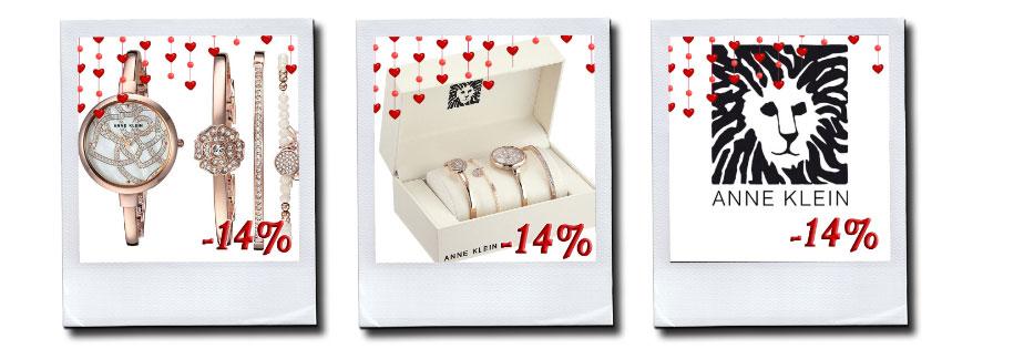 -14% на Женские Fashion Часы Anne Klein в GoldenTtme!