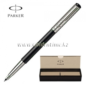 Ручка Parker 'Vector' Premium Satin Black SS Chiseled S0908810
