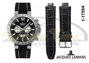 c4e49c15 Ремешок для часов Jacques Lemans 1-1759A
