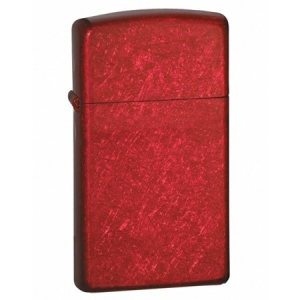 Зажигалка  Zippo 24319 Slim Candy Apple Red Finish