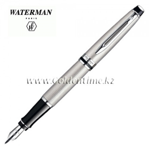Ручка Waterman Expert Essential Stainless Steel CT S0952040