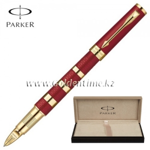 Ручка Parker '5th mode' INGENUITY Ring Red Metal and Rubber GT 1858534
