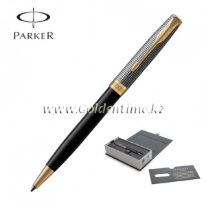 Ручка шариковая Parker 'Sonnet' Chiselled and Black 1931540