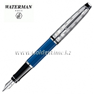 Ручка Waterman Expert Deluxe Obsession Blue 1904580