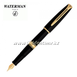 Ручка Waterman Charleston Ebony Black GT S0700980