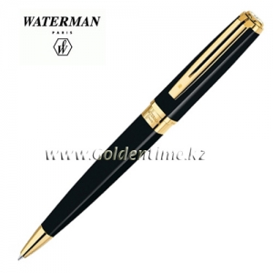 Ручка Waterman Exception Slim Black Lacqu GT S0636960