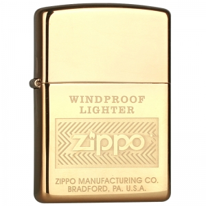 Зажигалка Zippo 28145 Windproof High Polish Brass