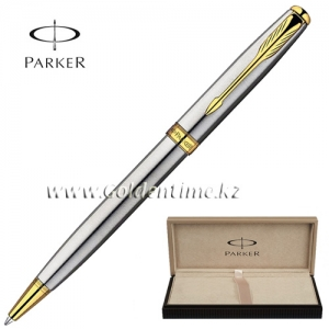 Ручка Parker 'Sonnet' Stainless Steel GT S0809140