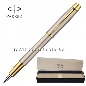 Ручка Parker 'IM' Brushed Metal GT S0856230