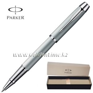 Ручка Parker 'IM' Metal Silver Chrome CT S0856370