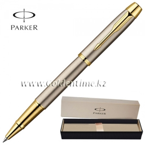 Ручка Parker 'IM' Brushed Metal GT S0856400