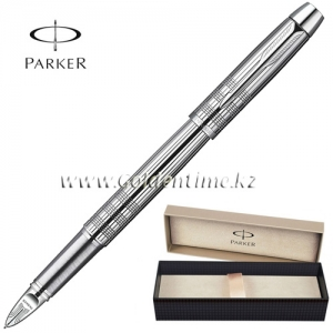 Ручка Parker '5th mode' IM Premium Shiny Chrome Chiselled CT S0976090